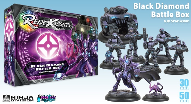 The starter box for Black Diamond.